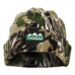 Polar Fleece Beanie BUFFALO CAMO